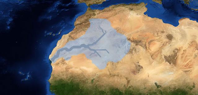 Sahara Entstehung